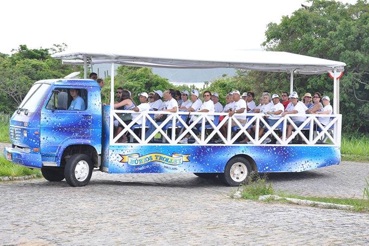 Buzios-trolley