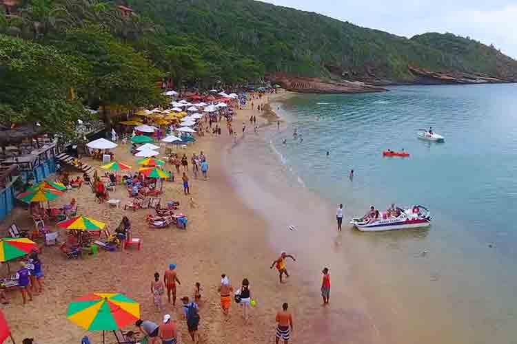 Praia João Fernandes Beach Buzios Brazil